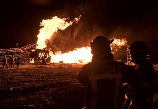 Lehetővé vált a több méter magas lángok eloltása