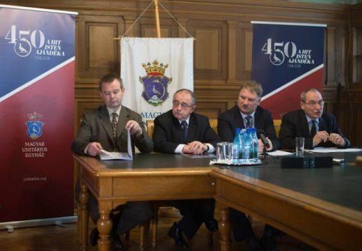 A vallásszabadság éve 2018 a Magyar Unitárius Egyháznál