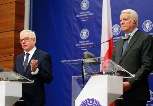 Nemet mond a kettős mércére lengyel és a román külügyminiszter