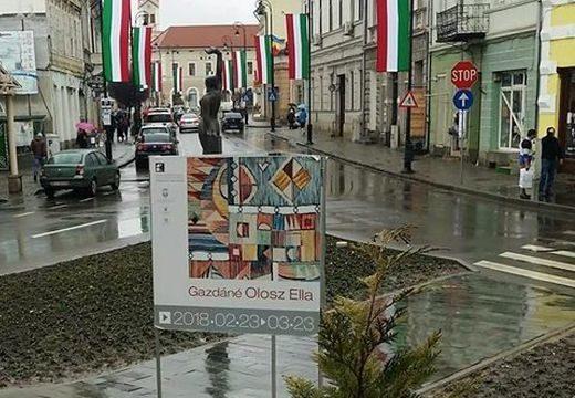 Piros-fehér-zöldbe öltözött Sepsiszentgyörgy központja – megszólalt a prefektus