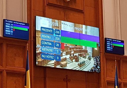 Elvetette a képviselőház a Székelyföldnek autonómiát előirányzó törvénytervezetet