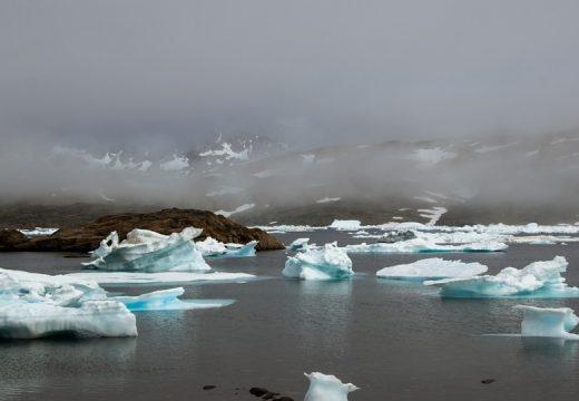Vészesen zsugorodik az északi-sarki jég