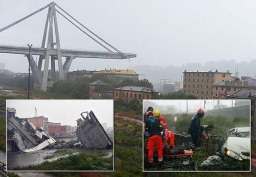 Olaszországi autópályahíd-beomlás: 2 román a 35 halálos áldozat között