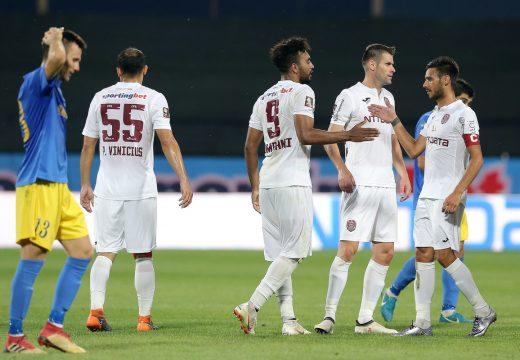 A Kolozsvári CFR kiütéses sikere az Európa-ligában