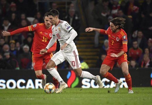 Esélye sem volt Magyarországnak Wales-ben