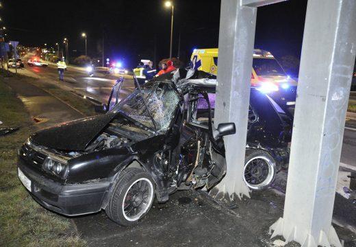 Halálos közúti baleset Érden