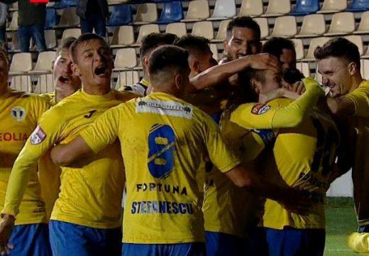 Petrolul-FK Csíkszereda 1-0 – dobogón a ploiesti-iek