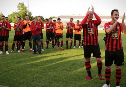 A Városházán köszöntötték a Budafoki MTE élvonalba jutott futballcsapatát