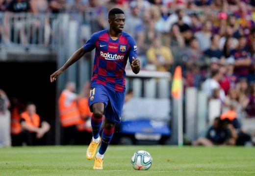 Dembélé a Juventus kölcsönjátékosa lehet