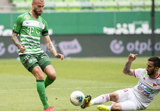 Sigér duplájával fordított a Ferencváros a Debrecen ellen