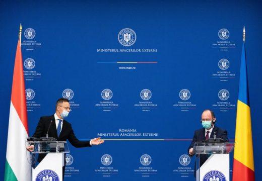 Bukarestben tárgyalt a román és a magyar külügyminiszter