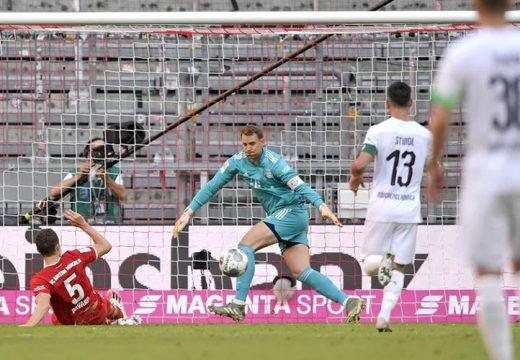 Győzelmével egy lépésre a bajnoki címtől a Bayern
