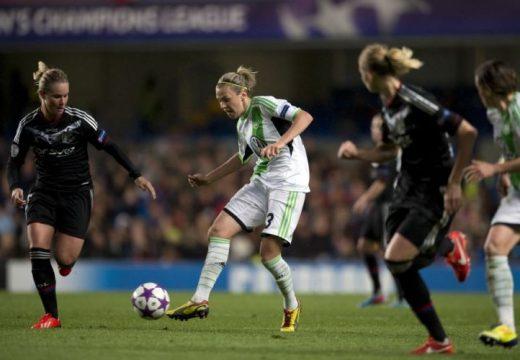 Jakabfi Zsanett sorozatban negyedszer nyerte meg a Bundesligát a Wolfsburggal