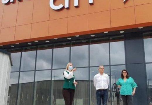 Nyitásra készül Marosvásárhely legújabb bevásárlóközpontja