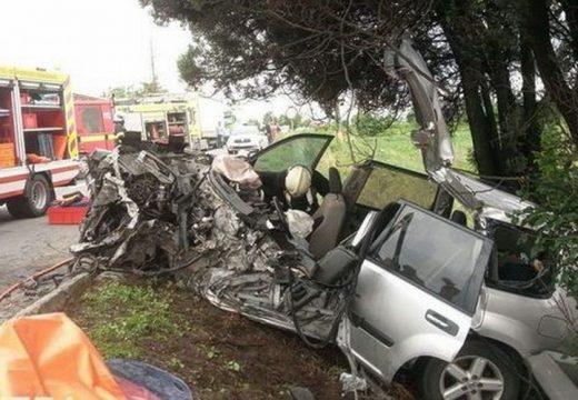 Teherautóval ütközött egy személygépjármű Segesvárnál