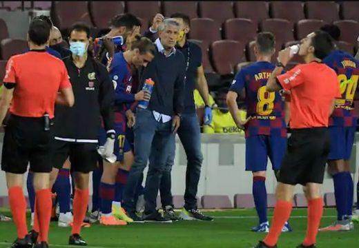 A Barcelona edzője szerint nem használják korrekten a VAR-t