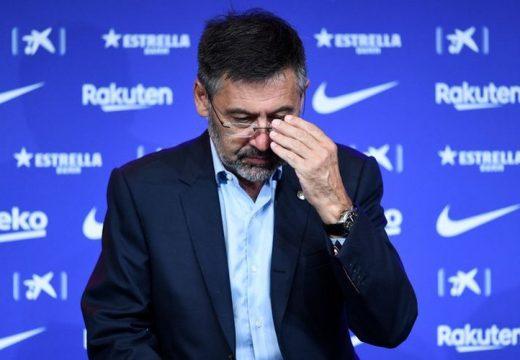 Nagy bajban az FC Barcelona elnöke