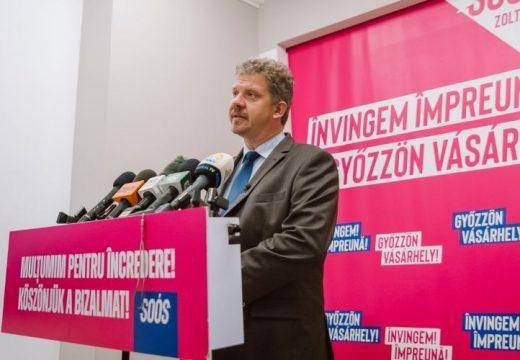 Soós Zoltán a leendő marosvásárhelyi alpolgármesterekről