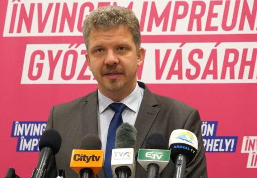 Megtartotta első sajtótájékoztatóját Soós Zoltán