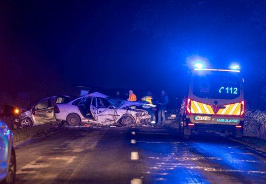 Két autó ütközött – egy ember meghalt