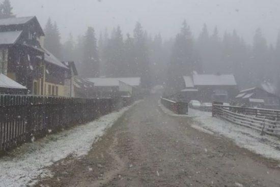 Szélriadó és havazás-figyelmeztetés!