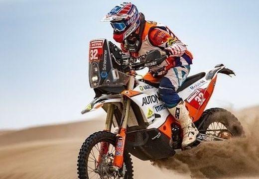 Gyenes Emanuel elindul a 2021-es Dakar-ralin