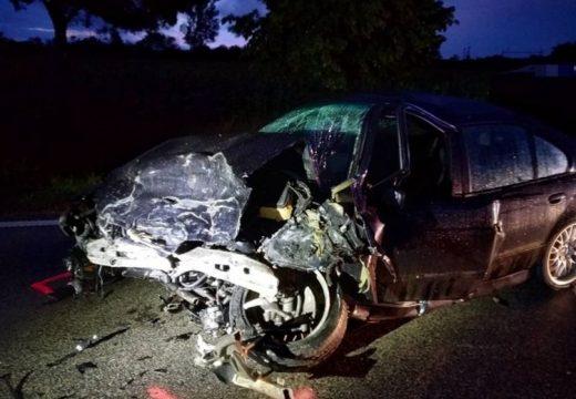 Halálos autóbaleset történt a 84-es úton, Kópházánál