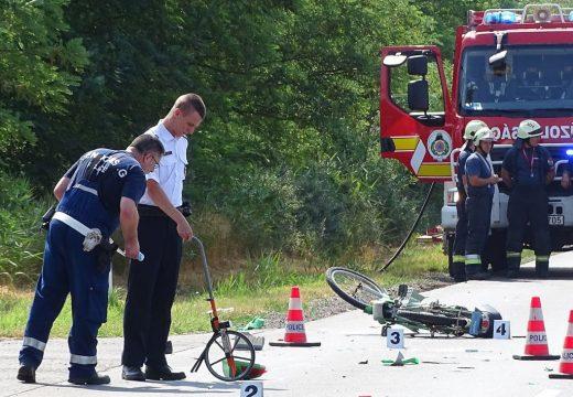 Autóbusznak ütközött elektromos kerékpárjával – meghalt