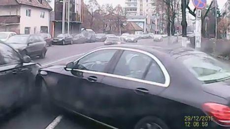 Videókamerával rögzítették a Tudorban történt balesetet