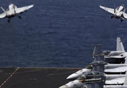 Összeütközött és lezuhant két amerikai vadászgép