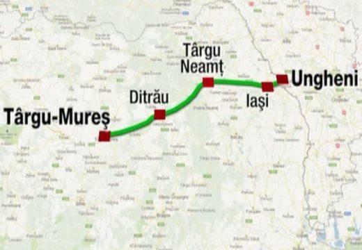 Kovászna megye Maros megyével versenyez az autópályáért