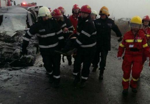Halálos baleset Héjjasfalva közelében – áll a forgalom