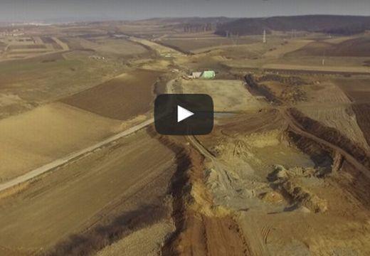 Észak-erdélyi autópálya: így áll most az építkezés a Marosvásárhely-Radnót szakaszon (videó)