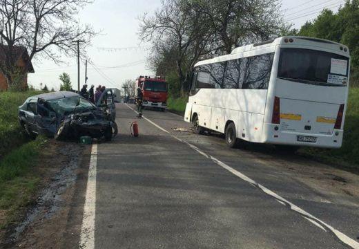Súlyos sérüléssel járó baleset Marosvásárhely határában
