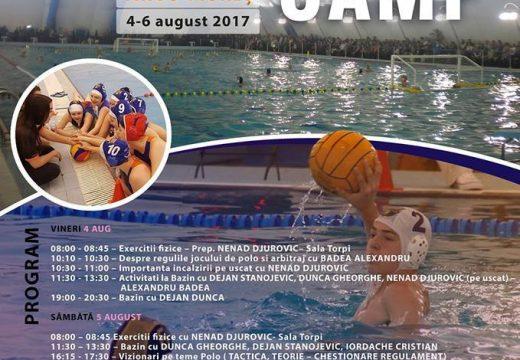 Torpi Waterpolo Camp: vízilabda-tábor Marosvásárhelyen
