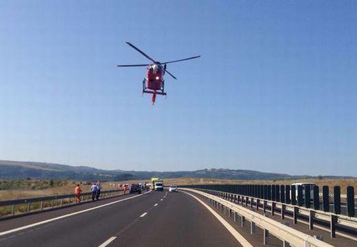 Bejelentés az autópályán elgázolt és Marosvásárhelyen megműtött rendőr állapotáról