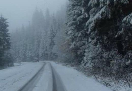 Elsőfokú riasztás havazás miatt