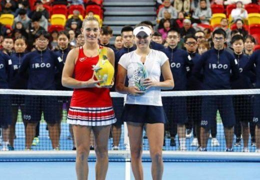Babos Tímea megnyerte a tajvani tenisztornát