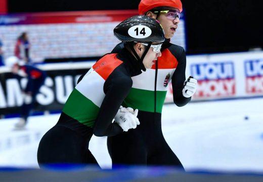 Magyar mestermunka a rövidpályás gyorskorcsolya Eb-n