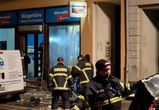 Robbantás az AfD egyik irodájánál – FRISSÍTETT