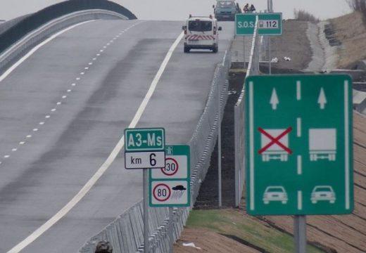 Orban az autópálya Marosvásárhelyhez közeli szakaszairól és a város terelőútjáról