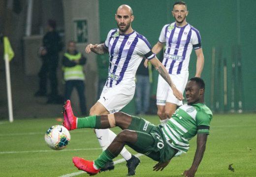 A Ferencváros sorozatban harmadszor is Boli góljával győzte le az Újpestet