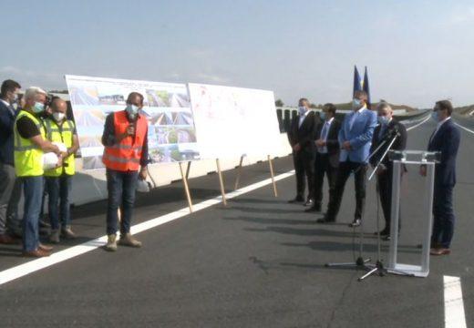 Autópálya. Elkezdődött a Radnót–Maroskece szakasz átadása