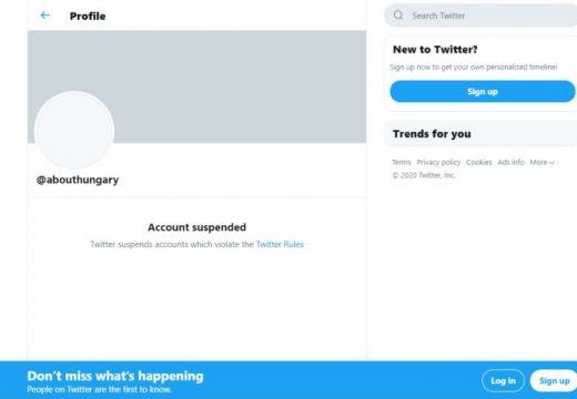 Letiltotta a magyar kormány hivatalos fiókját a Twitter!
