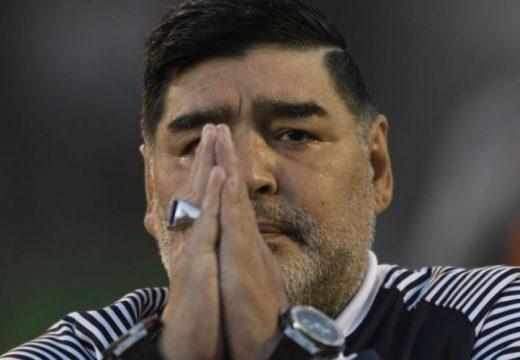 Agyműtéten esett át Diego Maradona