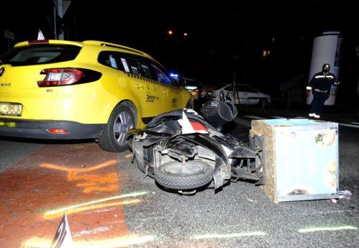 Autóval ütközött, meghalt a motoros