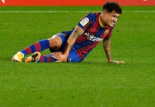 Térdműtét miatt hónapokig nem futballozhat Philippe Coutinho