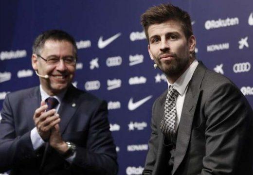 Gerard Piqué megpályázza az FC Barcelona elnöki tisztségét