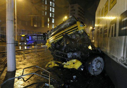 Hatalmas baleset Budapesten