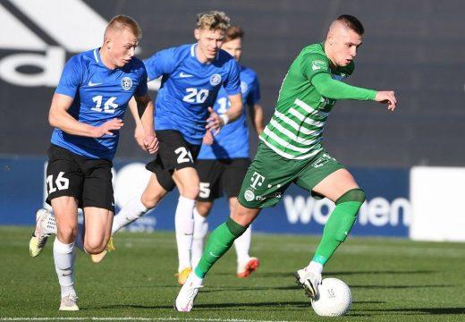 A Ferencváros legyőzte az észt labdarúgó-válogatottat